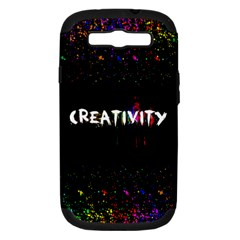 CREATIVITY. Samsung Galaxy S III Hardshell Case (PC+Silicone)