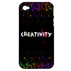 CREATIVITY. Apple iPhone 4/4S Hardshell Case (PC+Silicone)