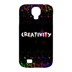 Creativity  Samsung Galaxy S4 Classic Hardshell Case (pc+silicone)