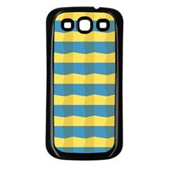Beach Feel Samsung Galaxy S3 Back Case (Black)