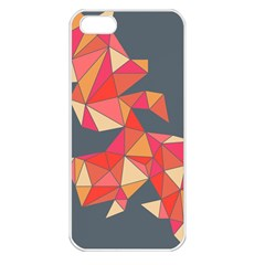 Angular Apple Iphone 5 Seamless Case (white)