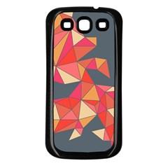 Angular Samsung Galaxy S3 Back Case (Black)