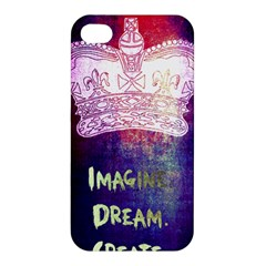 Imagine. Dream. Create. Apple iPhone 4/4S Premium Hardshell Case