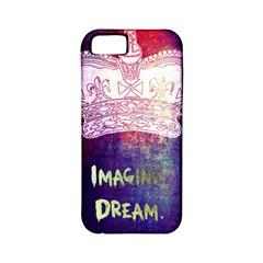 Imagine. Dream. Create. Apple iPhone 5 Classic Hardshell Case (PC+Silicone)