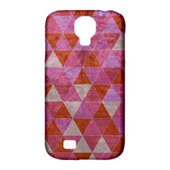 Tricolor Samsung Galaxy S4 Classic Hardshell Case (pc+silicone)