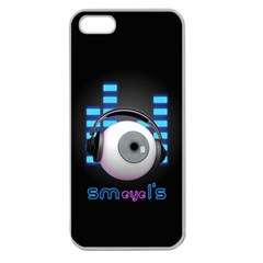 SMeyeL S Apple Seamless iPhone 5 Case (Clear)
