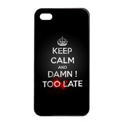 too late ! Apple iPhone 4/4s Seamless Case (Black)