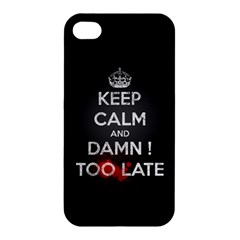 Too Late ! Apple Iphone 4/4s Premium Hardshell Case