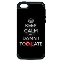 too late ! Apple iPhone 5 Hardshell Case (PC+Silicone)