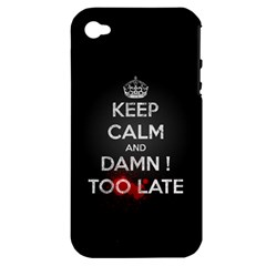 too late ! Apple iPhone 4/4S Hardshell Case (PC+Silicone)