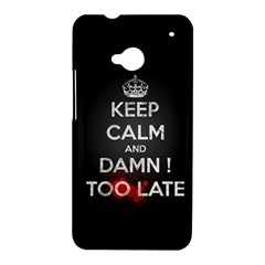 too late ! HTC One (M7) Hardshell Case