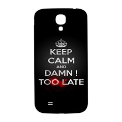 too late ! Samsung Galaxy S4 I9500/I9505  Hardshell Back Case