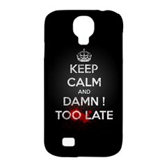 Too Late ! Samsung Galaxy S4 Classic Hardshell Case (pc+silicone)