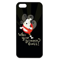Who You Gonna Call Apple Iphone 5 Seamless Case (black)