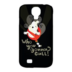 Who you gonna call Samsung Galaxy S4 Classic Hardshell Case (PC+Silicone)