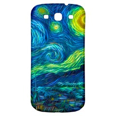 Starry Night Samsung Galaxy S3 S III Classic Hardshell Back Case