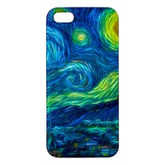 Starry Night Iphone 5 Premium Hardshell Case