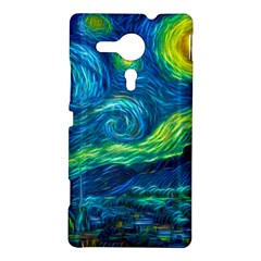 Starry Night Sony Xperia Sp M35H Hardshell Case
