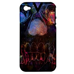 Third Eye Cosmic Apple iPhone 4/4S Hardshell Case (PC+Silicone)
