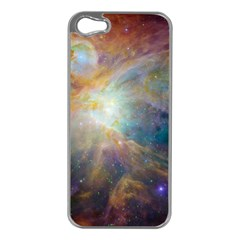 Space Apple iPhone 5 Case (Silver)