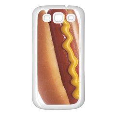 Hotdog Samsung Galaxy S3 Back Case (White)
