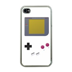 Handheld Gaming Apple Iphone 4 Case (clear)