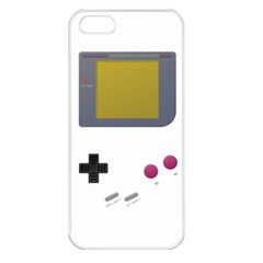 Handheld Gaming Apple Iphone 5 Seamless Case (white)