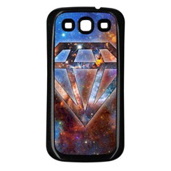 Cosmic Diamond Samsung Galaxy S3 Back Case (Black)