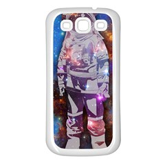 The Astronaut Samsung Galaxy S3 Back Case (white)