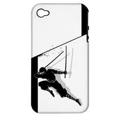 Slice Apple iPhone 4/4S Hardshell Case (PC+Silicone)