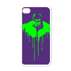 Incredible Green Apple Iphone 4 Case (white)