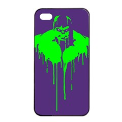 Incredible green Apple iPhone 4/4s Seamless Case (Black)