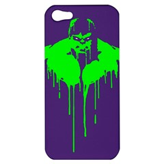 Incredible green Apple iPhone 5 Hardshell Case