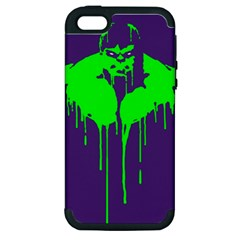Incredible Green Apple Iphone 5 Hardshell Case (pc+silicone)