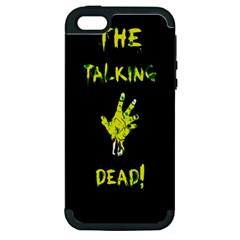 The Talking Dead Apple Iphone 5 Hardshell Case (pc+silicone)