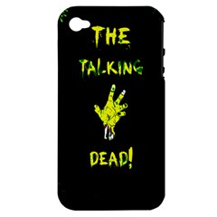 The Talking Dead Apple Iphone 4/4s Hardshell Case (pc+silicone)