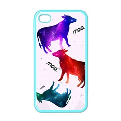 CowCow...cow. Apple iPhone 4 Case (Color)