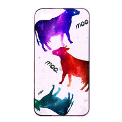 CowCow...cow. Apple iPhone 4/4s Seamless Case (Black)