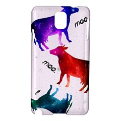 Cowcow   Cow  Samsung Galaxy Note 3 N9005 Hardshell Case