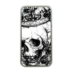 Skull King Apple iPhone 4 Case (Clear)