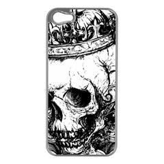 Skull King Apple Iphone 5 Case (silver)