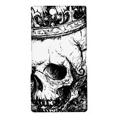 Skull King Sony Xperia XL39h (Xperia Z Ultra) Hardshell Case