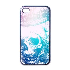 Skull King Colors Apple iPhone 4 Case (Black)