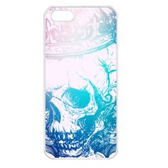 Skull King Colors Apple iPhone 5 Seamless Case (White)