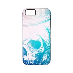 Skull King Colors Apple Iphone 5 Classic Hardshell Case (pc+silicone)