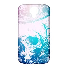 Skull King Colors Samsung Galaxy S4 Classic Hardshell Case (pc+silicone)