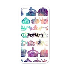 royalty Apple iPhone 4 Case (White)