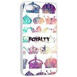 royalty Apple iPhone 4/4s Seamless Case (White) Front