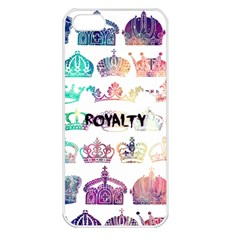 royalty Apple iPhone 5 Seamless Case (White)