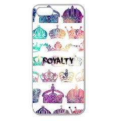 Royalty Apple Seamless Iphone 5 Case (clear)